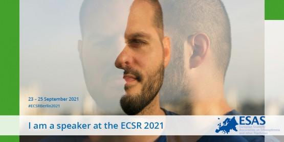 I'm speaking at the ECSR 2021