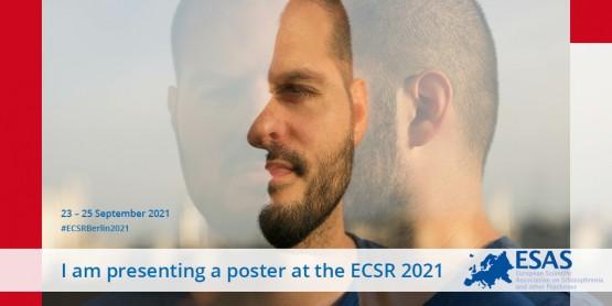 I'm presenting a poster at ECSR 2021